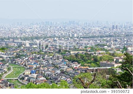 니시 노미야에서 오사카 방면의 거리 풍경 39350072