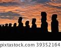 moai, the moai, easter island 39352164