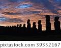 moai, the moai, easter island 39352167