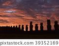 moai, the moai, easter island 39352169