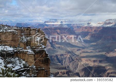 Grand Canyon National Park Martha Point Winter 39359582