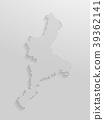벡터, 지도, 도트 39362141