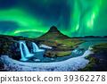 aurora, borealis, snow 39362278