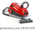 Vacuum cleaner isolated on white background. 39363259