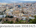 Cityscape aerial view of Malaga, Andalucia, Spain. 39363425