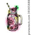 watercolor, juice, lemonade 39365688