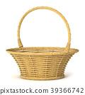 Empty wicker basket. 3D 39366742