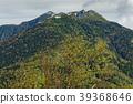 신록의 辻山에서 볼 봉황 삼산 · 観音岳과 薬師岳 39368646
