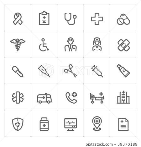 icon, medical, healthcare 39370189