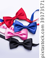 Collection set of colorful ribbon bows  39373571