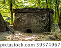 Caucasus dolmen in forest 39374967