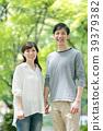couple, a walk, stroll 39379382