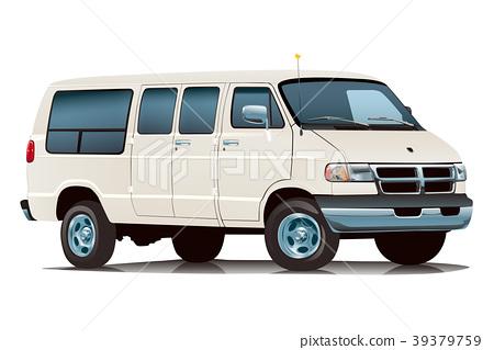 American car van white 1 39379759
