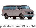 美國汽車范灰色 39379760