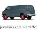 美國汽車麵包車·深灰色·之後 39379765