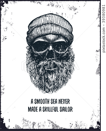 A smooth sea never made a skilled sailor 39380981