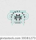 honest man clothing company label. vector 39381273