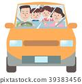 和家人一起開車 39383456
