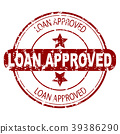 loan, approved, rubber 39386290
