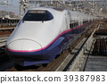 bullet train, shinkansen, rail 39387983