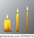 vector, 3d, candle 39388376