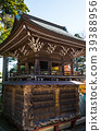 takaosan yakuo-in temple, bell tower, scape 39388956