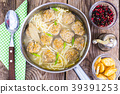 Vermicelli soup with meatballs 39391253