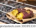 Potato burns purple japan. On the grill is popular 39395330