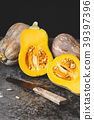 orange seed pumpkin 39397396