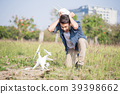 man with crashed drone 39398662