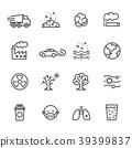 Pollution icon set 39399837