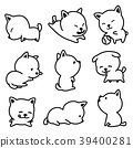 Dog breed vector illustration french bulldog 39400281