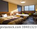 침대, 호텔, 침실 39401323