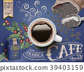 Black coffee ads 39403159