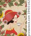 여성, 커피, 여자 39403162