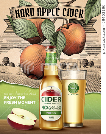 Hard apple cider ads 39403196