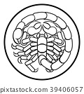 Scorpio Scorpion Zodiac Horoscope Sign 39406057