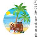 beach, case, suitcase 39406474