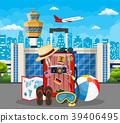 International airport concept. 39406495