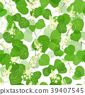 flower, seamless, vector 39407545