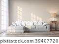 Vintage style living room 3d render 39407720