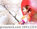 기모노 여성 39411354