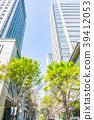 【도쿄】 신록의 도시 풍경 39412053