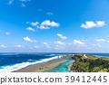 東平安名岬 海 大海 39412445