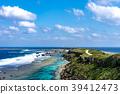 東平安名岬 海 大海 39412473
