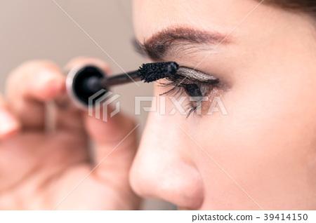 Asia Woman Beauty Makeup, Fresh Soft Skin. 39414150