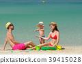 beach, family, mother 39415028