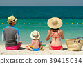 beach, family, mother 39415034