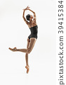 female, aerobics, ballerina 39415384
