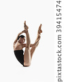 female, aerobics, ballerina 39415474